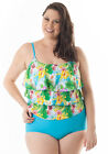 Tropicana 2 Tone One Piece with Tummy Control