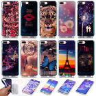 For iPhone 7 /7 Plus Blu-ray Laser Plating Soft Plastic TPU Back Case Cover #D
