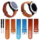 Replacement Leather Watch Band Strap with Tool Kit For Garmin Fenix 3 HR Fenix 2