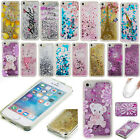 Glitter Floating Liquid Soft TPU Silicone Case Cover for Apple iPhone Shockproof