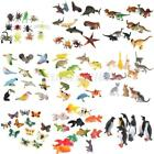 plastic insects - WHOLE SALE LOT of 12pcs Plastic Zoo Jungle Wild Animals Insects Model Party Toys