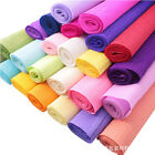 """New Colorful Crepe Paper Roll Sheets Craft Paper Florist Paper 19""""x98"""""""