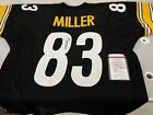 Heath Miller Signed Steelers Authentic Style Jersey JSA COA