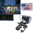 Halloween Decoration Rotating Projection Led Light Snowflake Spotlight Projector