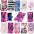 Flip Cover Trend Mix PU Leather Book Card Wallet Stand Case Cover For Phones #H2