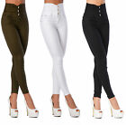 Sexy Women's Stretchy Jeans Trousers High Waisted Skinny Slim J 111