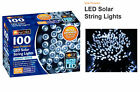 LED Solar Powered String Fairy Lights Indoor/Outdoor Xmas Party 100/200/300/400