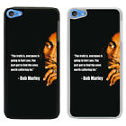 Quote Saying by Bob Marley Printed PC Case Cover - S-T2330