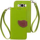 For Samsung Galaxy Grand Prime G530 PU Leather Flip Wallet Card Case Cover Stand