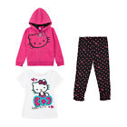 Baby Clothes Tee Jackets and Pants Girls Hoodie Tee and Leggings Set NWT