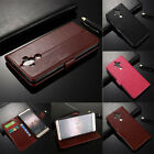 Luxury Leather Wallet Card Flip Case Cover Holder For Huawei Models Serise