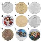 Christmas Wishes Coin Gift Merry Christmas Bauble souvenir Coins
