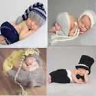 Внешний вид - Baby Girls Boys Newborn Knit Crochet Hat Costume Photo Photography Prop Outfits