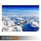 AIRCRAFT IN FLIGHT (AA036) AIRCRAFT POSTER - Photo Poster Print Art * All Sizes