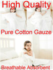 White 95x95cm Baby Soft Comfortable Pure Cotton Gauze Bath Towel Breathable