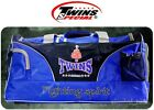 TWINS GYM BAG BAG-2 BLUE BOXING GEAR EQUIPMENT SPORTS MUAY THAI KICK MMA