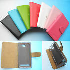 "For 4.5"" Archos 45b Helium 4G--Wallet Folder Stand Flip PU Leather Case Cover"