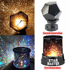 Romantic LED Starry Night Sky Projector Lamp Kids Gift Star light Cosmos Master@