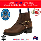 Genuine Johnny Reb Rebel Motorcycle Motorbike Leather BootsThomas Cook New Brown
