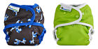 2x Best Bottom Reusable Cloth Diaper SNAP wash reuse shell eco-friendly and cute