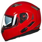 ILM Motorcycle Helmet Integrated Bluetooth Modular Flip Up Motorbike Helmet Gift