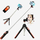 Mini Tripod 3in1 Monopod Selfie Stick Bluetooth Remote for iPhone Sumsang Gopro