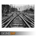RAILWAY (AB018) TRAIN POSTER - Photo Picture Poster Print Art A0 A1 A2 A3 A4