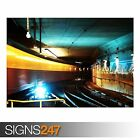 METRO STATION (AB041) TRAIN POSTER - Photo Picture Poster Print Art A0 to A4