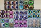 EYES - EYE BALL COASTERS - Wooden - Choose one only - GREAT GIFT