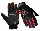 EVO Winter Cycling Motorbike Gel Gloves Breathable weather proof full Finger
