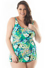 Waikiki Sarong Swimsuit with Tummy Control
