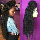 Brazilian Glueless Full Lace Wigs Curly  Human Hair Lace Front Wigs Baby Hair