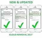 iCloud Removal Unlock Fast 8 Websites for iphone ipad ipod All Models