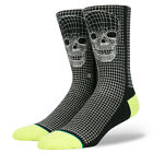 STANCE NEW Mens Black Socks Skull Frame BNWT
