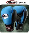 TWINS SPECIAL BOXING GLOVES  BGVL3T LIGHT BLUE  MUAY THAI MMA  K1 SPARRING