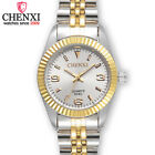 CHENXI Women Business Watch Nice Gold Stainless Steel Quartz Waterproof Watches image