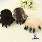 Unisex Cosplay Plush Monster Animal Paw Warm gloves