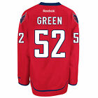 Mike GREEN Washington Capitals Reebok Premier Officially Licensed NHL Jersey