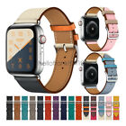 Apple Watch Band 40mm 44mm 38mm 42mm Swift Leather Single Tour Bracelet Strap image