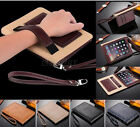 Genuine Leather Wallet Card Slot Stand Folio Case Cover For iPad Air /Mini /Pro