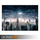 INDEPENDENCE DAY RESURGENCE (AB076) MOVIE POSTER - Poster Print Art A0 A1 A2 A3