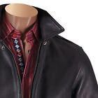 NWT Inserch Mens 100% Leather Bomber Jacket Limited Quantity (50% off)