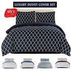 Egyptian Duvet Cover Set 1800 Series Luxury Quality 3 Piece, 11 Colors Available image
