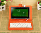 "iRULU 7"" 8GB Tablet PC WIFI Quad Core Google Android 4.4 Kitkat Pad w/ Keyboard"