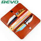 BEVO Universal PU Multi-functional Wallet Card Case Cover For Less Than 6 Inch S