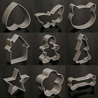 Stainless Steel Cookie Cutter Biscuit Mould Fondant Cake Decorating Baking Mold