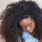 Brazilian Curly Pre Plucked 360 Lace Frontal Closure  Human Hair Full Lace Band