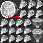 20pcs LED Spotlight Bulb MR16 4W 12V 3000K Warm White Light Energy Saving NEW @