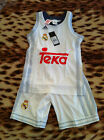 Real Madrid adidas Basketball Kit  FREE  P&P TO UK •Size: 7-8 Y, 13-14 Y, 15-16Y