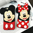 iphone 4 silicone case - Disney Minnie Mouse Silicone Soft Cover Case For iPhone 4 4S 5 5S 6 6S 7 Plus